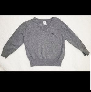 2T Carter's sweater gray